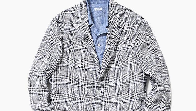 夏のジャケット、爽やかさを出すならこんな柄【スーツの着回し1週間チャレンジ!/阪急メンズ東京編#2】