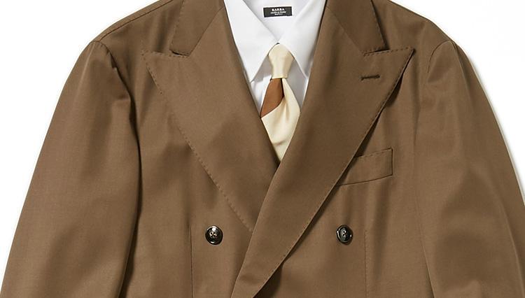 「旬のブラウンスーツ」を仕事で着こなすコツ【スーツの着回し1週間チャレンジ!/グジ編#2】