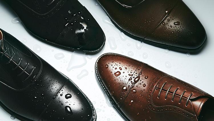 「雨に強いアンダー5万円の革靴」7選の撥水力を検証!【きちんと見える梅雨対策 #01】