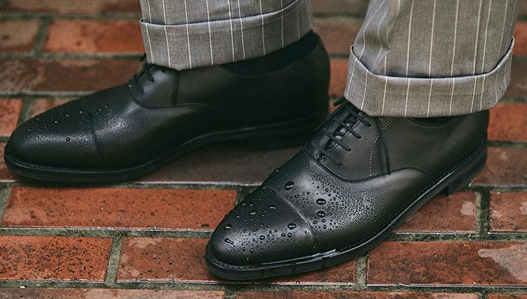 伊勢丹新宿店で発見! 雨でも履きやすい高級ドレス靴 【きちんと見える梅雨対策 #02】