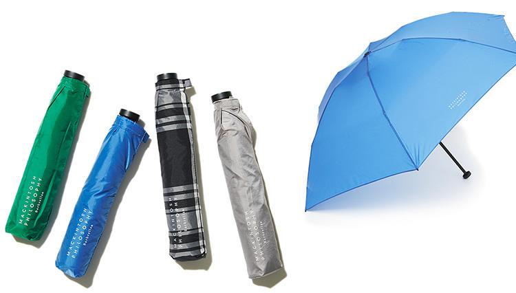 「メンズも使える、軽量&コンパクト折り畳み傘」4傑はコレ!【きちんと見える梅雨対策 #03】