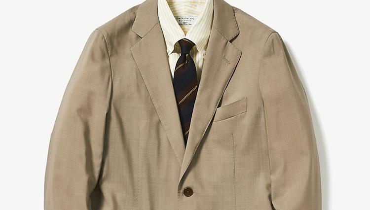 真夏日のスーツ、涼しく乗り切るコツは?【スーツの着回し1週間チャレンジ!/トゥモローランド編#1】