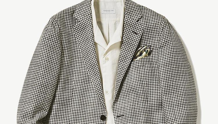 夏の仕事ジャケット、ノータイでキマるのはこんなシャツ【スーツの着回し1週間チャレンジ!/トゥモローランド編#3】