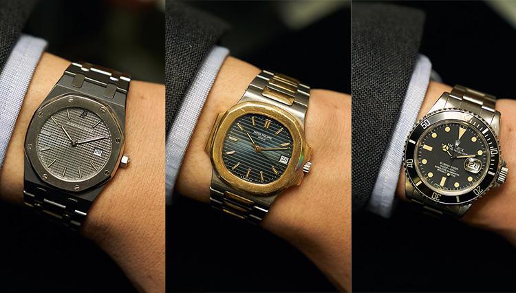 ロレックス、オーデマ ピゲ、パテック フィリップetc.香港の時計店でお宝ヴィンテージウォッチを腕乗せしてみた!