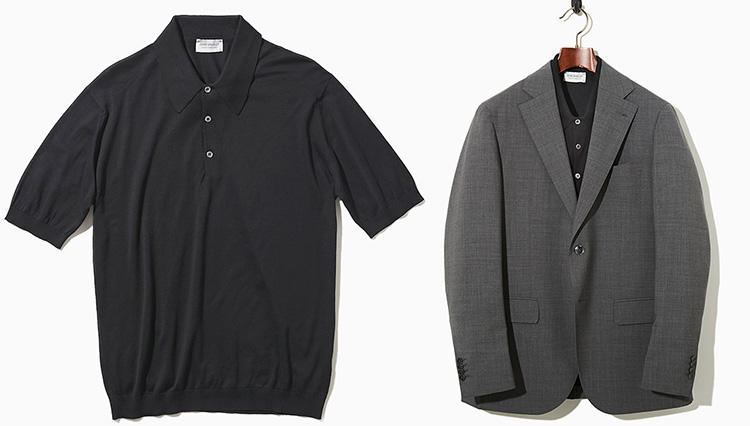 「スーツでノータイ」がきちんと見える!「半袖ニットポロ」9選【快適クールビズ #04】