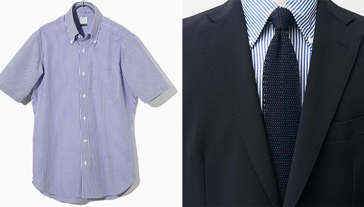 1枚で着ても野暮ったくならない、大人の「半袖ワイシャツ」は?【快適クールビズ #03】