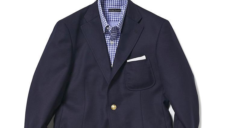 「休日にレストラン」、そんなとき仕事の紺ブレが実は使えます【スーツの着回し1週間チャレンジ!/麻布テーラー編#7】