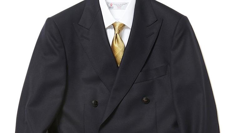 大人のメンズに似合う「紺ブレ×デニム」の着こなしとは?【スーツの着回し1週間チャレンジ!/ヴァルカナイズ・ロンドン編#5】
