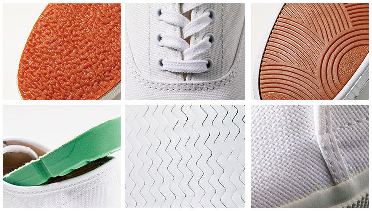 白のキャンバススニーカー大定番の3ブランド、見分けられる?