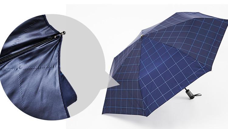 炎天下で「スーツに日傘」実はこんなに涼しいんです!