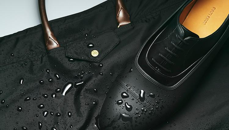 高級ビジネス靴&鞄を、「雨からしっかりガードする」良く出来アイテムとは?