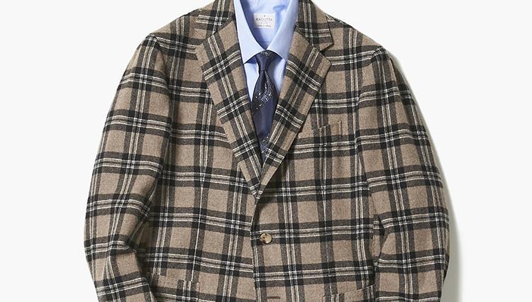 この秋、着回しに重宝するチェックジャケットは?