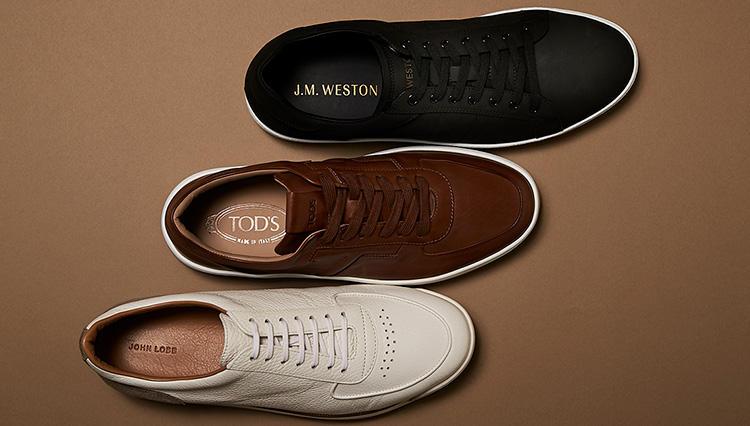 この秋、大人が履くべき「本格靴ブランドの革スニーカー」8選