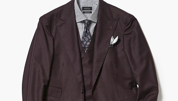 この秋はワインスーツに挑戦【スーツの着回し1週間チャレンジ!/バーニーズ ニューヨーク編#1】