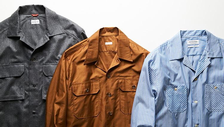 秋の休日に便利! アウター代わりに使える「ポケットシャツ」8選
