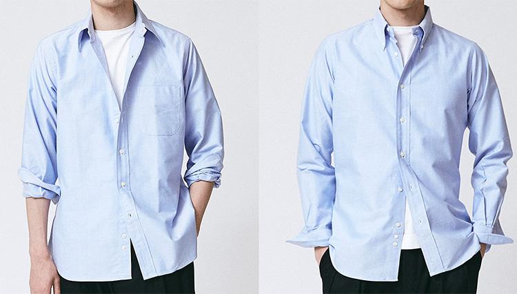 休日に羽織る「BDシャツ」、どんなサイズがちょうど良い?