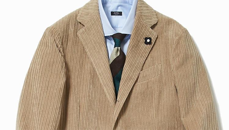 仕事←→夜「コーデュロイスーツ」を1日で2WAY着る方法【スーツの着回し1週間チャレンジ!/ストラスブルゴ編#3】