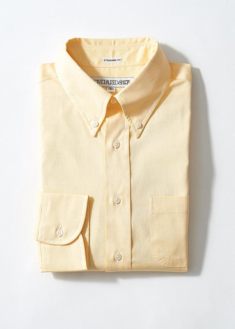 <p><strong>9.インディビジュアライズド シャツのBDシャツ</strong><br /> ボタンダウン&オックスフォード地における王道も、今季はこんな色合いに注目。ジーンズやカーゴパンツにはもちろん、トレンドのブラウンスーツとも好相性。2万4000円(ユーソニアングッズストア TEL:03-5410-1776)</p>