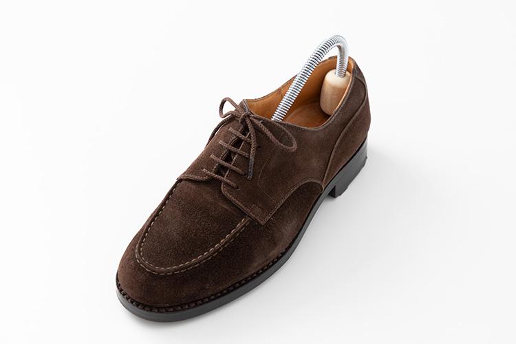 靴紐オーバーラップ