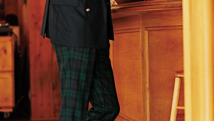 チェックパンツは、こう履くと今年っぽくなる!【火曜日のチェック柄】
