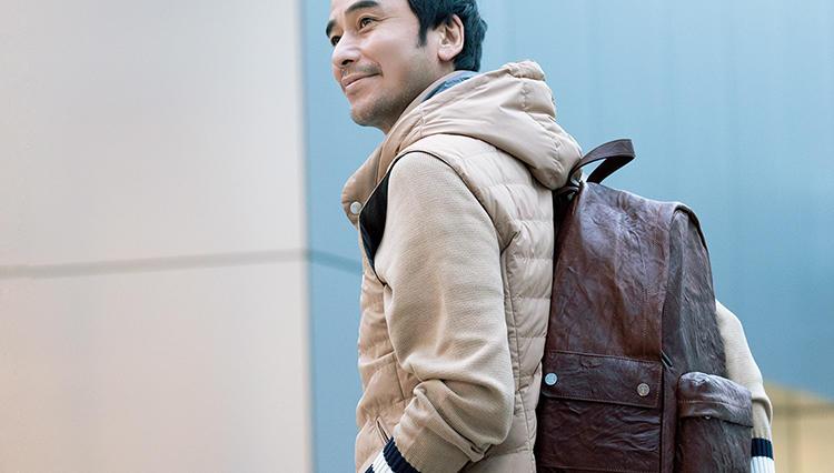 休日の後ろ姿を品良く見せるのは、こんな大人リュック!【火曜日のトラッド鞄】