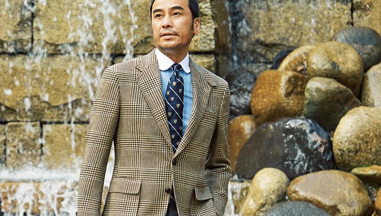 ポロ ラルフ ローレンのツイードジャケット、仕事で着るならこんな合わせが◎