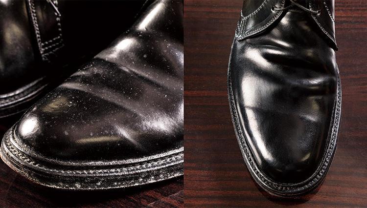 うっかりカビが生えた革靴のメンテナンス方法は?【究極の靴磨き】