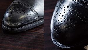 白く塩吹きしてしまった革靴のメンテナンス方法は?【究極の靴磨き】