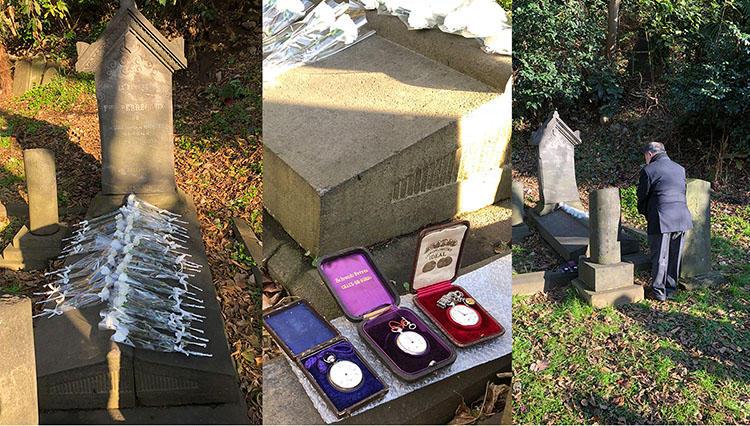 今年もフランソワ・ペルゴの墓参りに横浜元町の外国人墓地へ【松山 猛の道楽道 #020】