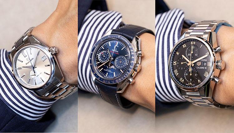 「いい時計ですね」と絶対言われるブランドウォッチ10本を有名店で腕に乗せてみた!