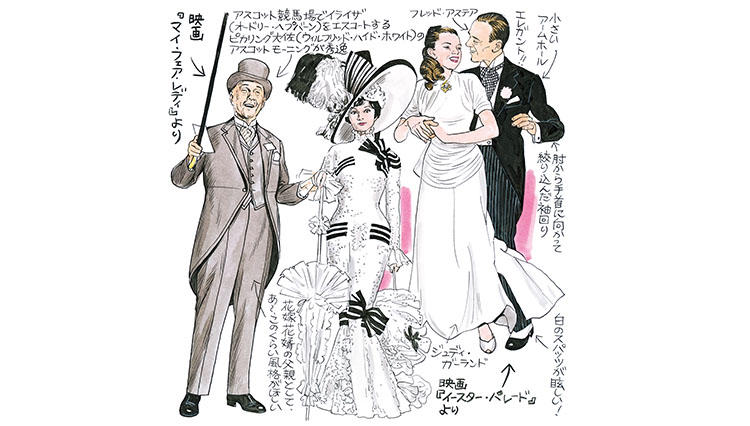 綿谷寛画伯の男の嗜みシネモード#10「モーニングコートの正統的装い」
