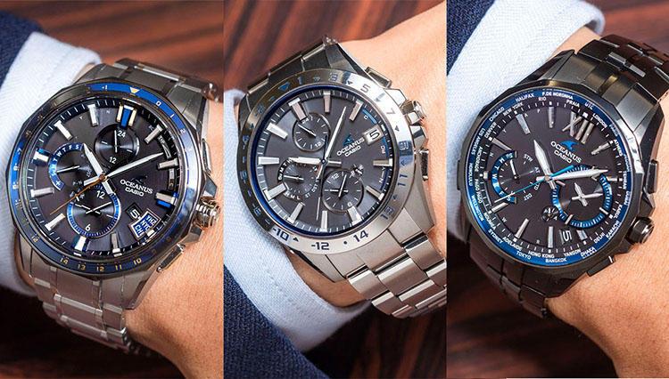 ビジネス腕時計どれにする? ブルーが好印象なカシオのオシアナス5本をつけ比べた