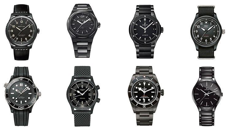 人気ブランドの「真っ黒な腕時計」を集めたら、どれも傑作揃いだった!