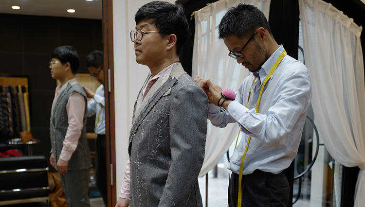 日本最高のビスポーク「サルトリア チッチオ」のスーツに魅せられて【韓国紳士の東京リー散歩 #03】