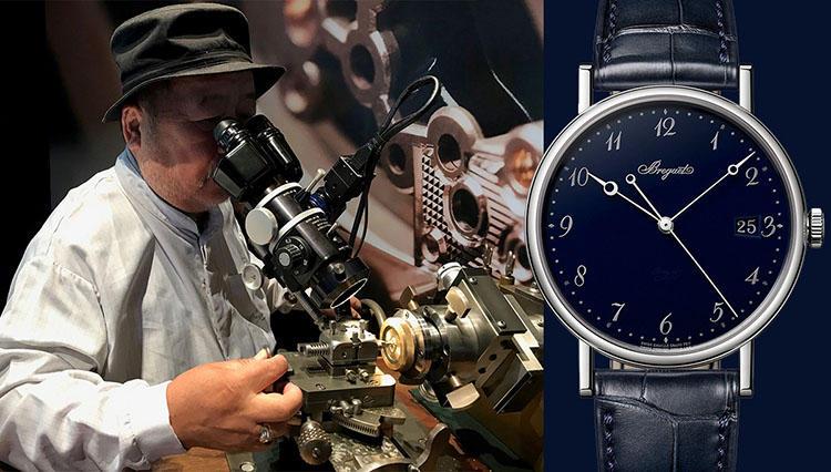 BREGUETブレゲ2019新作時計とギヨシェ彫り体験【松山 猛の道楽道 #027】
