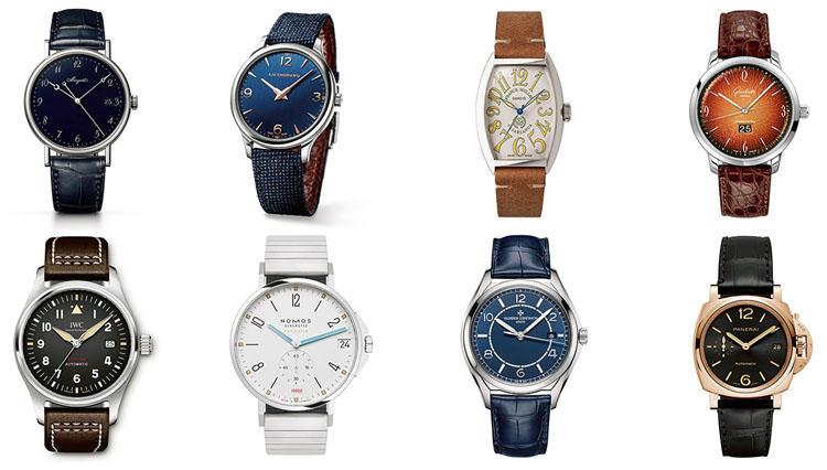 腕時計選びは「数字のデザイン」でセンスが問われます。傑作といえばこの8本!