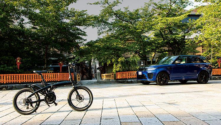 SUVの王様に話題の「eバイク」を積んで京都観光に行ったら、素晴らしく快適だった!