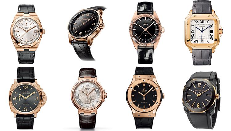 そろそろ「ゴールドウォッチ」が欲しいと思ったら、人気ブランドの本命時計はこの8本!