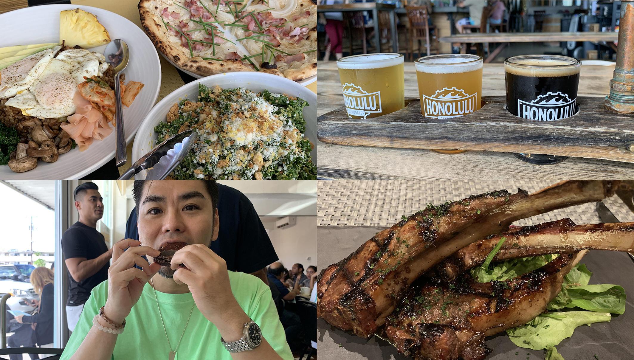 ハワイ男のひとり旅【フード編】「現地の食べものをとことん満喫、腹がはち切れそう」