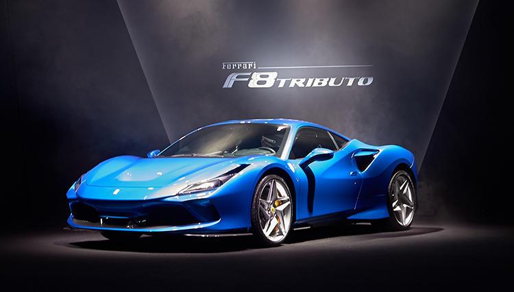 V8フェラーリ史上最高スペックで登場した最新モデル「F8トリブート」は何が凄いのか?