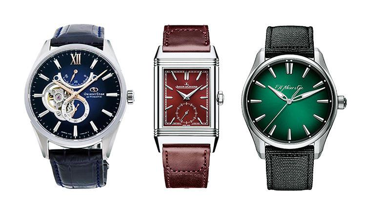「きれいな時計ですね!」と声がかかるカラーダイヤルの高級ウォッチ9選