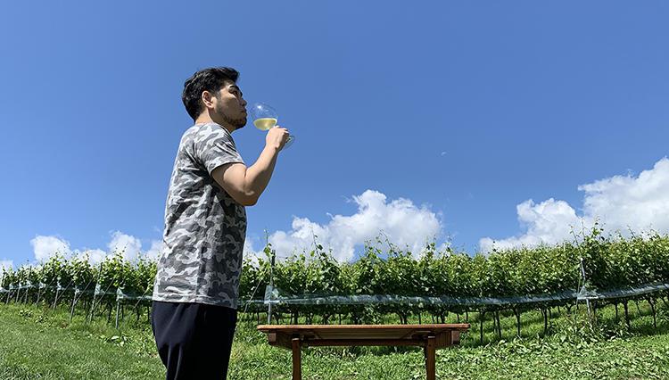 【男のひとり旅/八ヶ岳編】二日酔いもなく美味しい朝食、ワインの足湯も体験