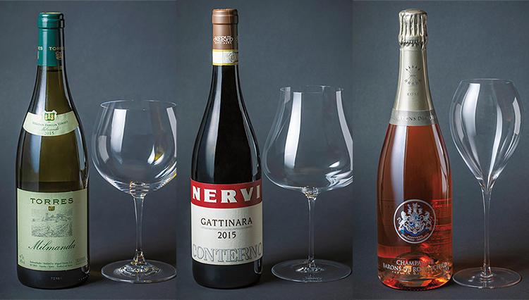 【保存版】手土産選びにも役立つ!用途別・ワイン×グラスのペアリング7選