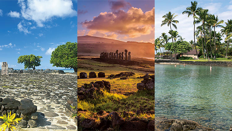 """【イースター島・タヒチ・ハワイ島・ ニュージーランド】南太平洋トライアングルの """"終わらぬ旅""""を辿る"""