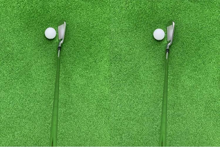左が「01 HC アイアン」、写真・右が「05 CB アイアン」