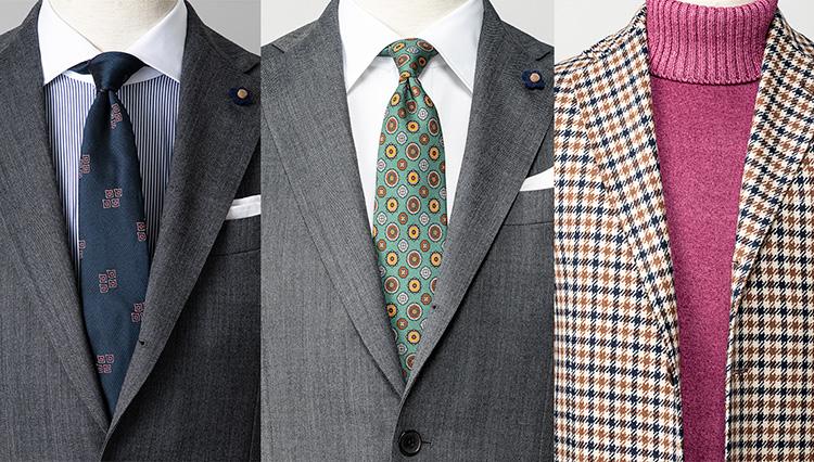 「2019秋冬・スーツの胸元実例1週間」をストラスブルゴに聞いてみた!