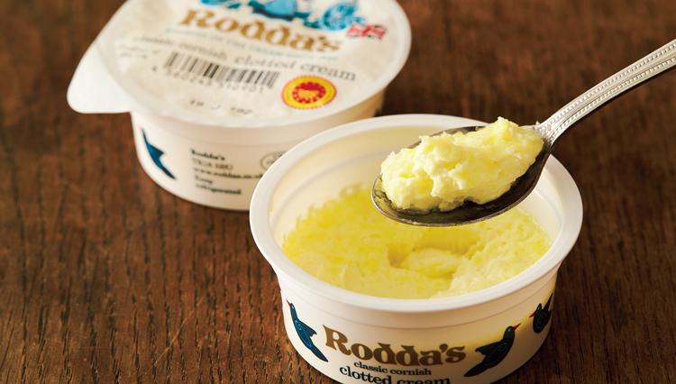 英国式アフタヌーンティに欠かせない、ロダスの「クロテッドクリーム」を知っている?