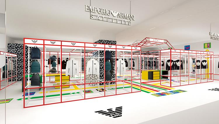 エンポリオ アルマーニ、世界初のコンセプトショップを渋谷に開業【ひと言ニュース】