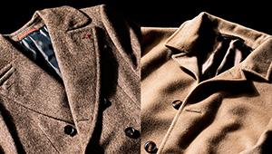 「ヤク」に「キャメル」……コートで格を出すなら素材にこだわるべし