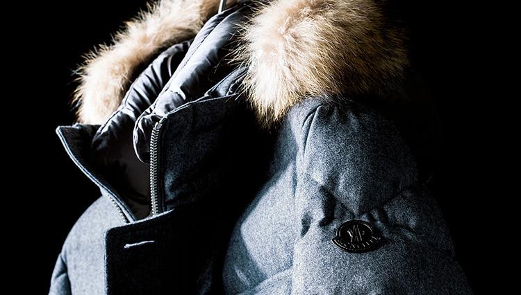 「モンクレール」で発見! ビジネスで着られるダウンジャケット